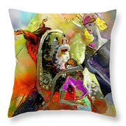 The Sweeties 03 Throw Pillow