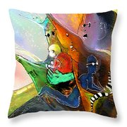 The Sweeties 04 Throw Pillow