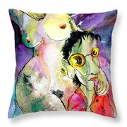 The Sweeties 05 Throw Pillow