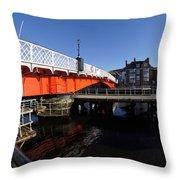 The Swing Bridge Throw Pillow