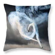 The Swirl Throw Pillow