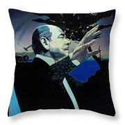 The Symphony Throw Pillow