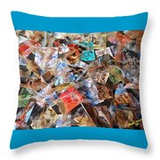 The Synergies Of Recycling Wastes And Intellects #3005 Throw Pillow