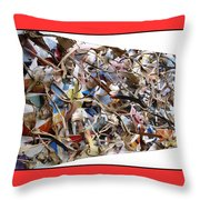 The Synergies Of Recycling Wastes And Intellects #511 Throw Pillow