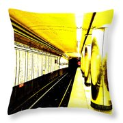 The T Throw Pillow