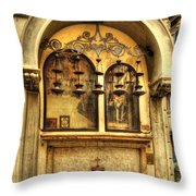 The Tabernacle Of The Five Lamps Throw Pillow
