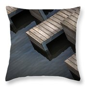 The Tables Are Waiting Throw Pillow