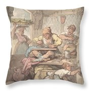 The Tailor Throw Pillow