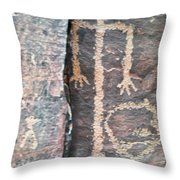 The Tall Thin Man Throw Pillow