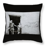 The Tannery Throw Pillow
