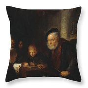 The Teacher 1645 Throw Pillow