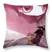 The Tears Of Mont Fuji Throw Pillow
