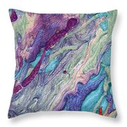 The Tears Of The East Throw Pillow by Julia Apostolova