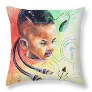 The Technologist In Me Throw Pillow