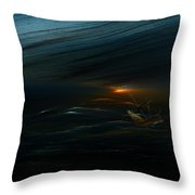 The Tempest Revisited Throw Pillow
