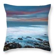 The Tempestuous Sea Throw Pillow