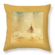 The Temple 2016 Throw Pillow