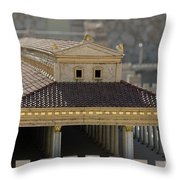 The Temple Of Solomon 1 Throw Pillow