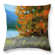 The Tenth Month Throw Pillow