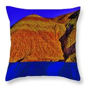 The Tepees Up Close Throw Pillow