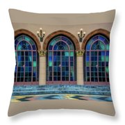 The Terrace At The Ringling Estate - Sarasota, Florida Throw Pillow