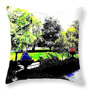 The Terrace Throw Pillow