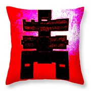 The Terrible Pronouncement Throw Pillow by Eikoni Images