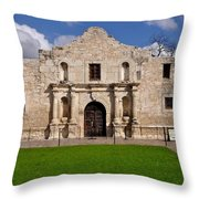 The Texas Alamo Throw Pillow
