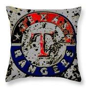 The Texas Rangers 6b Throw Pillow