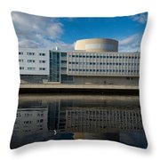 The Theatre Of Oulu 1 Throw Pillow