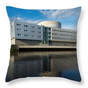 The Theatre Of Oulu 2 Throw Pillow