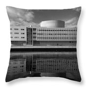 The Theatre Of Oulu  3 Throw Pillow