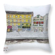 Theatre's Of Harlem's 125th Street Throw Pillow