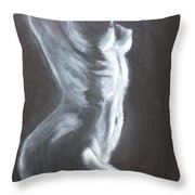 The Thin Line Throw Pillow