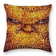 The Thing Mosaic Throw Pillow