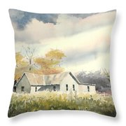 The Thompson Place Throw Pillow