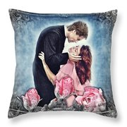The Thorn Birds Throw Pillow by Mo T