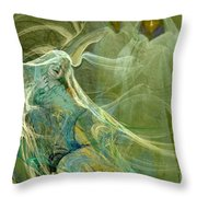 The Three Guardians Throw Pillow