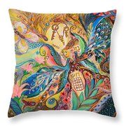 The Three Keys Throw Pillow