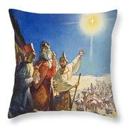 The Three Wise Men  Throw Pillow