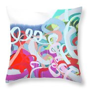 The Thrill Of It All Throw Pillow