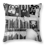 The Tickle Throw Pillow