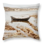 The Tide Is Rising Throw Pillow