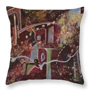 The Ties That Bind Throw Pillow