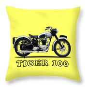 The Tiger 100 1949 Throw Pillow