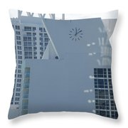 The Time Is...12 10 Throw Pillow