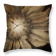 The Time Keeper Throw Pillow