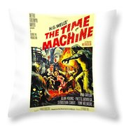 The Time Machine B Throw Pillow