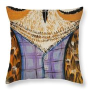 The Time Watcher Throw Pillow