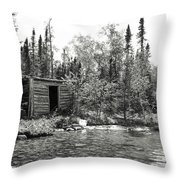 The Timeless Cabin Throw Pillow
